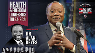 Dr. Alan Keyes   Clay Clark's Health and Freedom Conference
