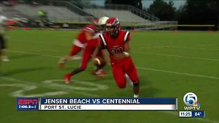 Jensen Beach vs Centennial 8/29 (Keli Ferguson)