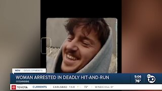 Oceanside woman arrested in deadly hit-and-run crash