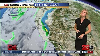 Dry weather persist before a storm arrives to begin next week
