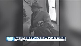 Police search for suspect in West Allis jewelry store armed robbery