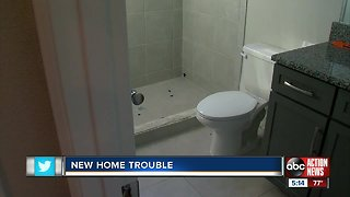 Local family at odds with builder over bathrooms