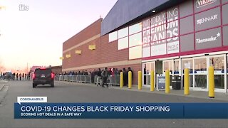 COVID-19 changes Black Friday shopping