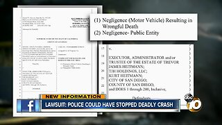 Lawsuit: police could have stopped deadly crash