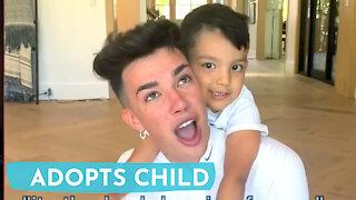 James Charles ADOPTS CHILD?!