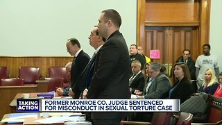 Former Monroe County judge sentenced to up to five years in prison for prostitution case