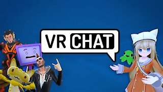vrchat and a special Easter egg