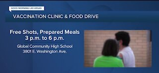 County Commissioners hosting vaccination clinic, food drive