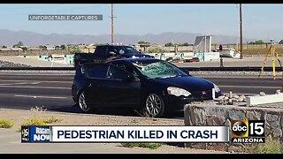 25-year-old pedestrian struck, killed in Avondale