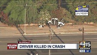 Driver killed in Glendale crash