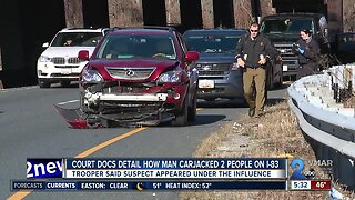 Trooper: I-81 carjacking crime spree suspect appeared under the influence