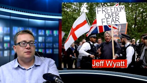 UNN@S David Clews speaks to Jeff Wyatt about the days protest