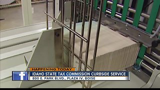 Idaho State Tax Commission offering curbside service today