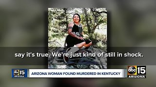 Arizona woman murdered in Kentucky