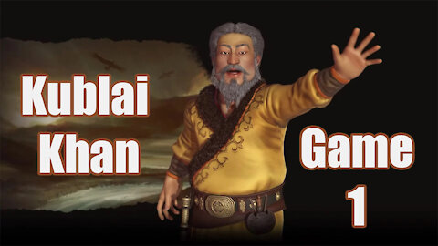 Civilization 6 | Kublai Khan | Newest Edition to the Frontier Pass