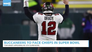 Buccaneers To Face Chiefs In Super Bowl