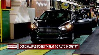 Coronavirus poses threat to auto industry