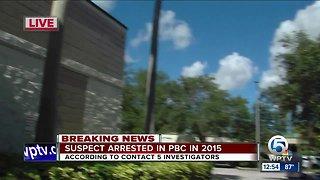 Suspect arrested in PBC
