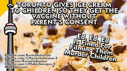 Free Ice Cream For Babies If You Put A Needle In Their Arm in Toronto
