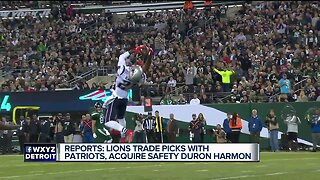Lions agree to deal with Shelton, trade for Harmon