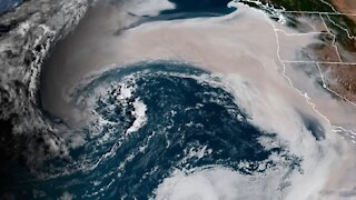 Space View Shows Massive Amount of Smoke Created by West Coast Wildfires