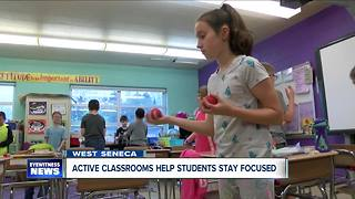 Active classroom models improving performance in West Seneca schools