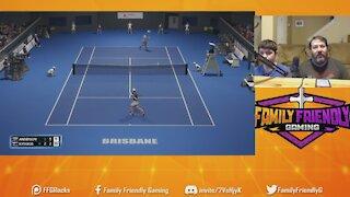 AO Tennis 2 Gameplay