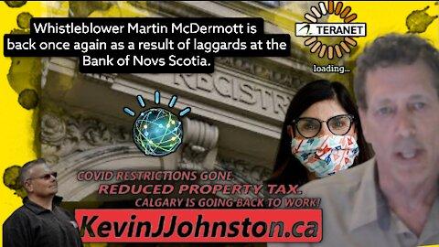 The Kevin J. Johnston Show Whistle Blower Martin McDermott Is Back!