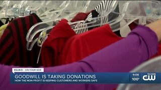 Goodwill of Southern Arizona is taking donations during the pandemic