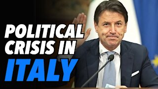 Italy's Prime Minister Conte resigns. Political crisis deepens