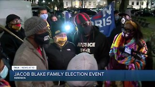 Jacob Blake family shares message with voters on eve of election