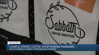 Couple opens coffeeshop in Clawson during pandemic