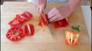 Smart tricks for cutting vegetables the easy, simple, and fast way
