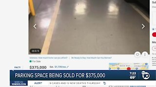 Fact or Fiction: Parking space being sold