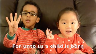 Kids tell the beautiful story of Christmas