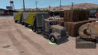 American Truck Simulator 2019 #5 Gameplay