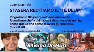 """Silvana De Mari, questa sera recitiamo il """"Te Deum"""" - 2020.12.31 SDM#2"""