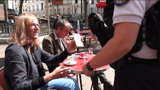 Paris Police Demand Vaccine Passports At Cafe's