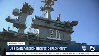 USS Carl Vinson begins landmark deployment