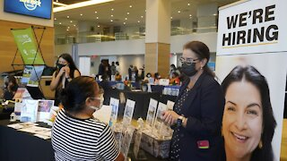 Jobless Claims Reach A Pandemic Low As Economy Recovers