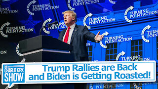 Trump Rallies are Back and Biden is Getting Roasted!