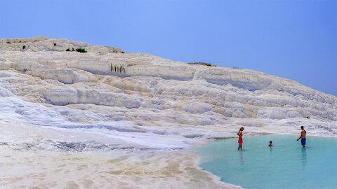 Limestone terraces of Pamukkale