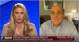 The Real Story - OAN Durham Indictment with Rudy Giuliani