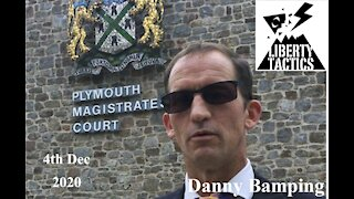 Danny Bamping v Plymouth City Council Round 2 4-12-20