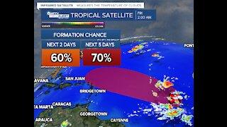 Hurricane season isn't over yet: 2 tropical waves have high chance of development