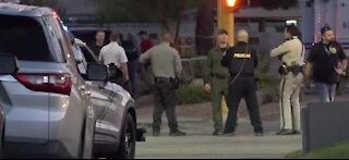 Officers, community react after two barricaded gunman situations near downtown Las Vegas