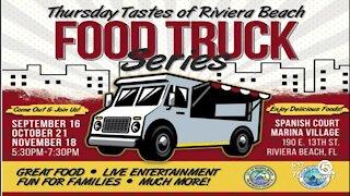 Riviera Beach kicks off revitalization efforts with food truck series