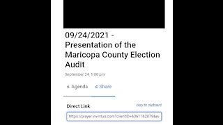Presentation: Arizona Senate Election Audit
