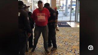 Warren councilman arrested at TCF Center