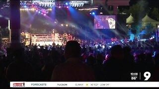Hometown fighter Valdez defends world title in boxing's big Tucson return